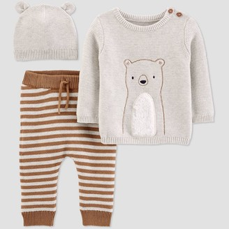 Just One You Made By Carter's Baby Boys' Bear 3pc Top & Bottom Set - Just One You® made by carter's