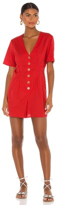 BCBGeneration Button Front Romper