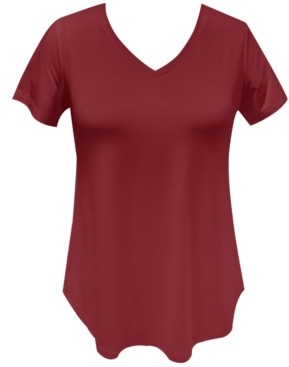 JM Collection V-Neck T-Shirt, Created for Macy's