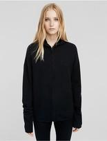 Calvin Klein Boiled Cashmere Zipped Hoodie