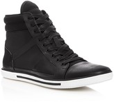 Kenneth Cole Up-Side Down High Top Sneakers