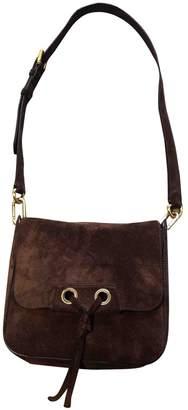 Vanessa Bruno Khaki Suede Handbags