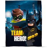 Lego Batman Movie Hero Print Fleece Blanket - Large