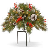NATIONAL TREE CO National Tree Co. Frosted Berry Urn Filler Holiday Yard Art