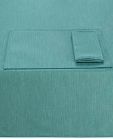 """Noritake Colorwave Turquoise Collection 60"""" x 102"""" Tablecloth"""