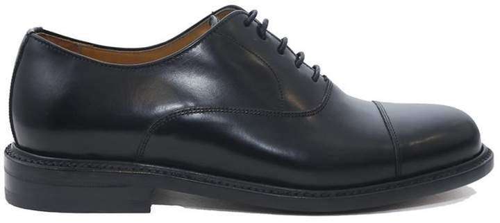 "Berwick derby"" Lace-up In Smooth Leather With Goodyear Processing"