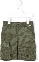Il Gufo camouflage print shorts - kids - Cotton/Spandex/Elastane - 3 yrs