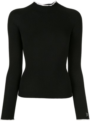 Barrie Ribbed Knitted Top