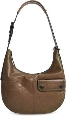 Frye Samantha Quilted Leather Hobo Bag