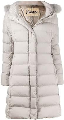 Herno hooded down coat