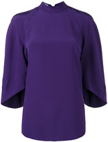 Prada bishop sleeve blouse