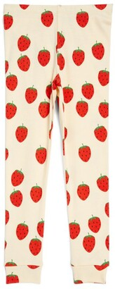 Mini Rodini Strawberry Leggings (1.5-7 Years)