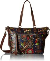 Sakroots Artist Circle City Satchel