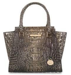 Brahmin MiniPriscilla Convertible Leather Satchel