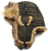 San Diego Hat Company San Diego Hat Women's Plaid Pane Trapper Hat