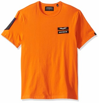 Avirex Men's AVF19BT01-SAFETY Orange