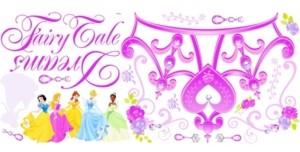York Wall Coverings York Wallcoverings Disney Princess - Princess Crown Peel and Stick Giant Wall Decal