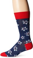 Bugatchi Men's Flower Time Mens Fancy Sock
