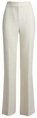 Veronica Beard Lebone Wide-Leg Crepe Trousers