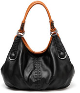 Vicenzo Leather Lisa Genuine Italian Leather Hobo