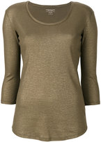 Majestic Filatures round neck blouse