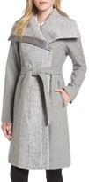 Vince Camuto Women's Textured Double Breasted Coat