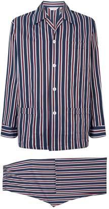 Derek Rose Stripe Pyjama Set