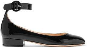 Gianvito Rossi Patent-Leather Ballet Flats