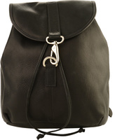 Piel Leather Medium Drawstring Backpack 3019