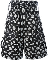 Kokon To Zai monogram shorts