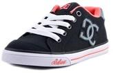 DC Chelsea Tx Round Toe Canvas Skate Shoe.