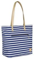 Lassig Casual Striped Tote Diaper Bag in Navy/White