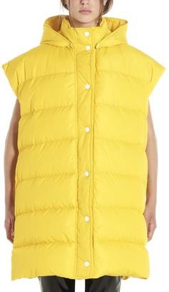 MSGM Sleeveless Hooded Puffer Jacket