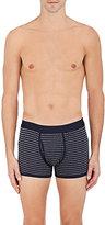 Sunspel Men's Striped Cotton Boxer Briefs