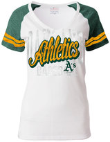 5th & Ocean Women's Oakland Athletics White Hot T-Shirt