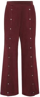 Alexander Wang Cotton-blend trackpants