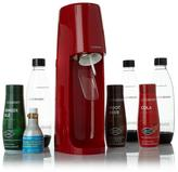Sodastream Fizzi Sparkling Drink Kit with 3 Classic Flavors, (3) 1-Liter Bottles and Mini CO2 Mail-In Rebate