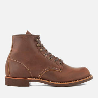 Red Wing Shoes Men's Blacksmith 6 Inch Leather Lace Up Boots - Copper
