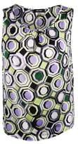 Nine West Woman's Sleeveless Print Top (XL, Honey Dew Lilac Multi)