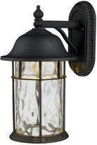 14' Lapuente Black Outdoor Sconce