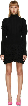 Paula Canovas Del Vas Black Short Knit Dress