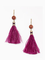 Kate Spade Swing time tassel earrings