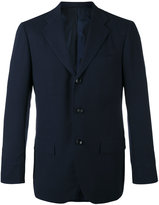 Kiton slim-fitting blazer - men - Cupro/Wool - 48