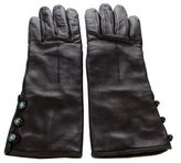 Tiffany & Co. Cashmere-Lined Leather Gloves