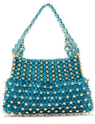 Shrimps Quinn Beaded Bag - Womens - Blue Multi
