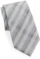Vince Camuto Plaid Silk-Blend Tie