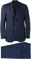 Corneliani striped two-piece suit - men - Cupro/Wool - 48