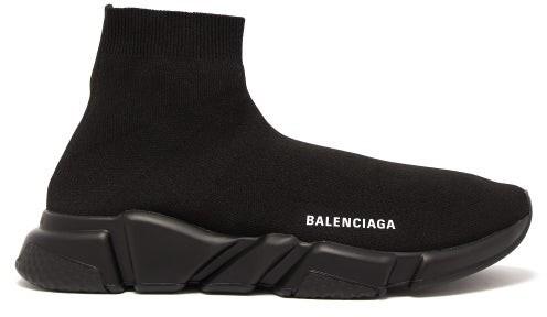 Balenciaga Speed Trainers - Black