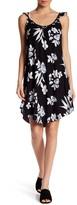 Lush Sleeveless Knit Floral Print Dress