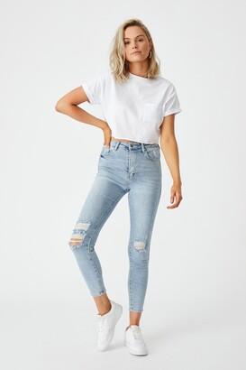 Supre The Skinny Premium Ripped Jean